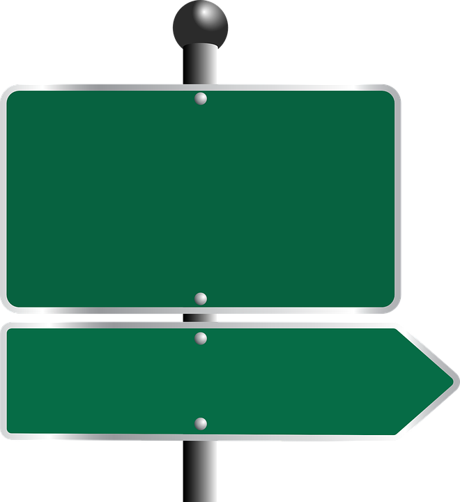 Road Traffic Freeway · Free vector graphic on Pixabay Green Road Sign Png