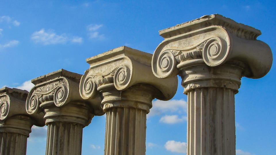 pillar capitals greek architecture column ionic Pillar