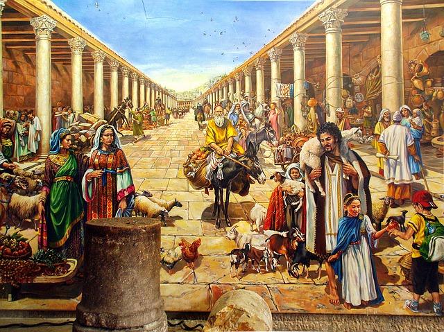 Free Illustration: Jerusalem, Fresco, Wall, Paintings
