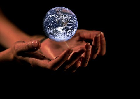 Hands Globe Earth Protection Planet World