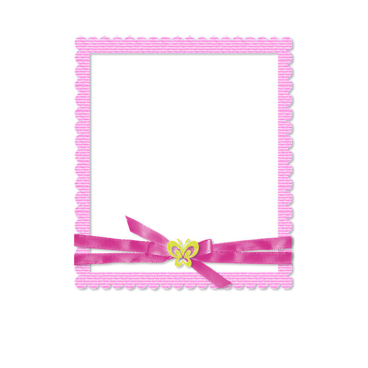 Photo Frame Scrapbook Pink · Free image on Pixabay