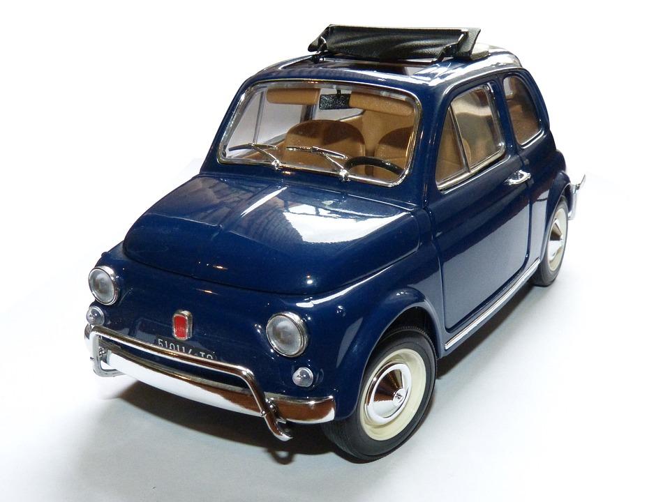 Free Photo Toy Toy Car Miniature Fiat 500 Free Image