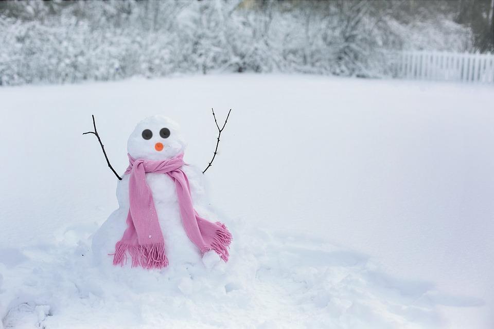 Foto Gratis: Mujer De La Nieve, Muñeco De Nieve