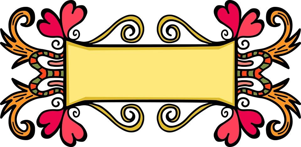 Banner Frame Border · Free image on Pixabay