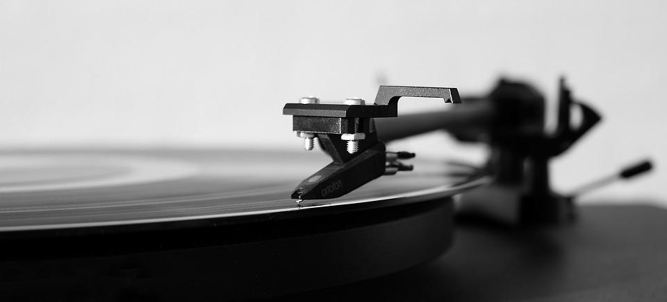 S Record Player, Music, Turntable, Needle