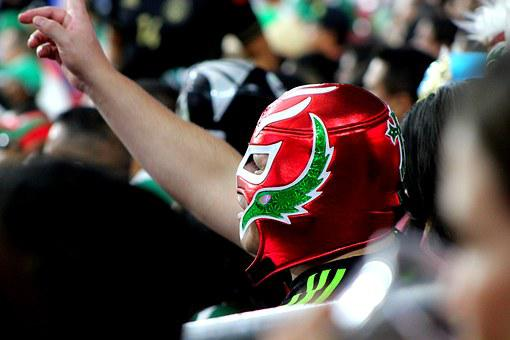 Mexican Wrestling Mask Mexican Soccer Mexi