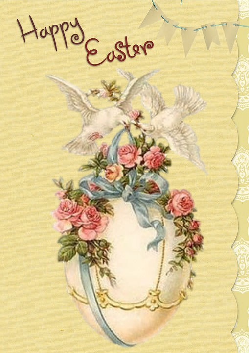Easter greeting card vintage free image on pixabay easter greeting card vintage card greeting m4hsunfo