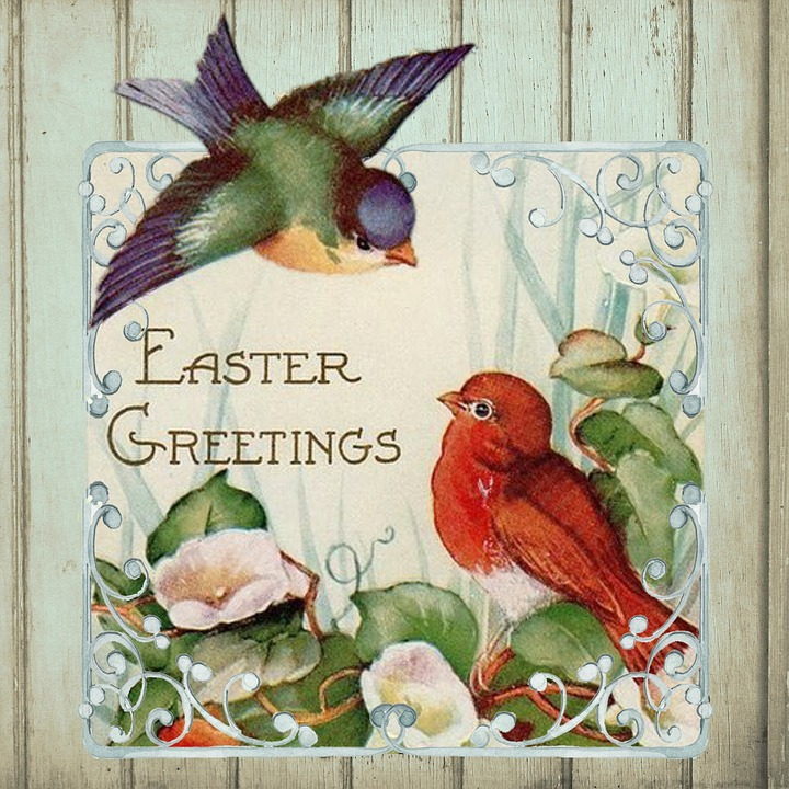 Free Vintage Easter Cards 4