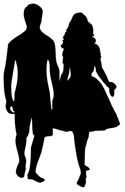 Couple Silhouette Love · Free image on Pixabay