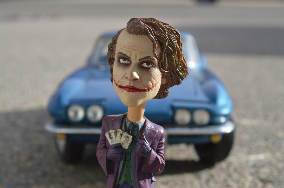 ジョーカー バットマン ヒース・レジャー , Pixabayの無料写真