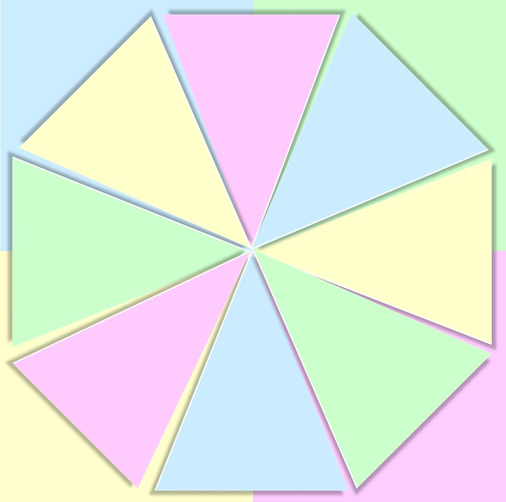 3d Pie Chart: Free illustration: Color 3D Wheel Pastels Baby - Free Image on ,Chart