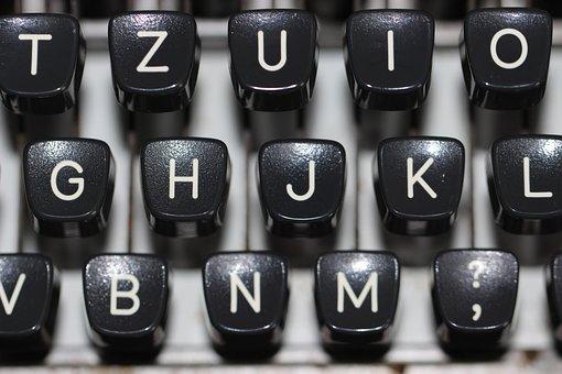 Máquina De Escrever, Teclado, Tipo