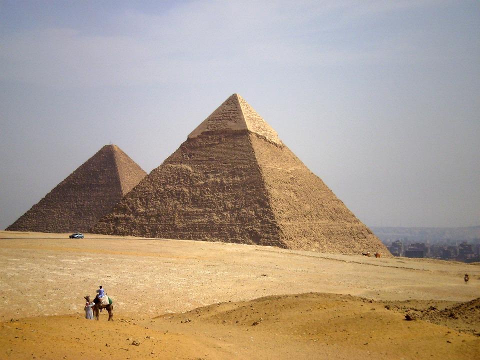 egypte piramides - photo gratuite sur pixabay