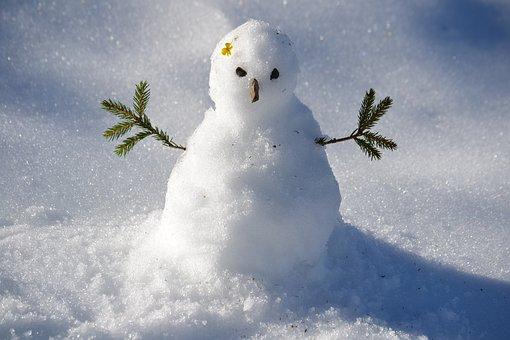 Snowman, Snow, Winter, Snowman, Snowman