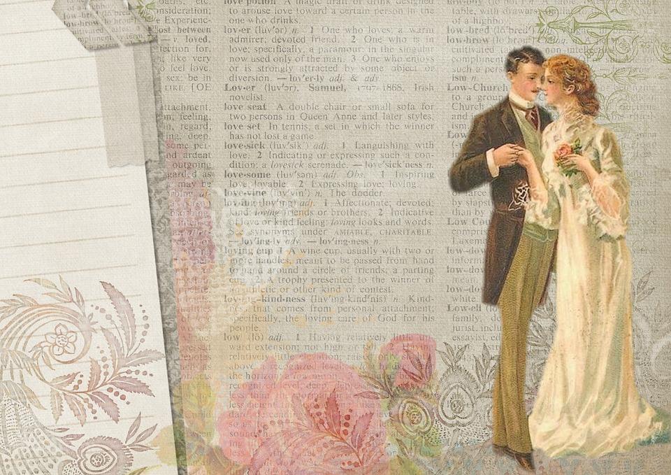 Free illustration background vintage couple free image on pixabay 1227545 - Papier peint retro vintage ...