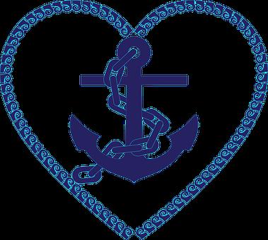 Ancre, Chaîne, Nautiques, Océan, Mer