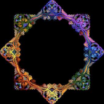 Decorative Ornamental Floral Flourish Flow