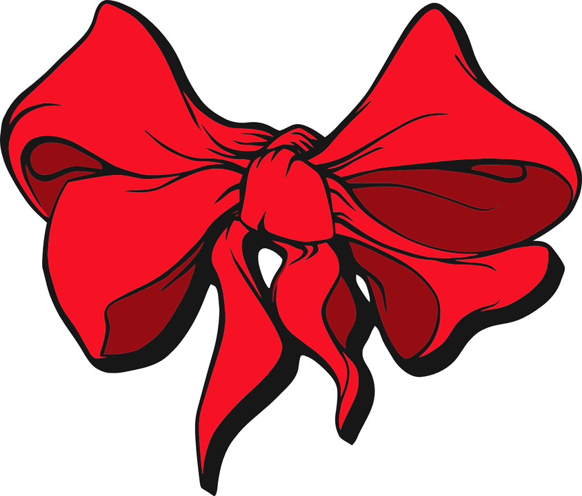 Free vector graphic: Red, Ribbon, Hair, Accessory - Free Image on ...