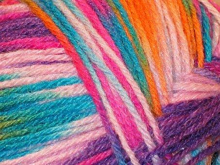 Flecked, Heathered Wool, Wool, Knit