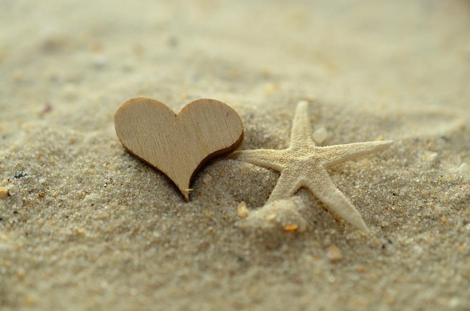 e9ab631c79c1 Sable Coeur Étoile De Mer - Photo gratuite sur Pixabay