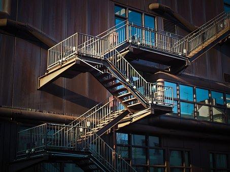 Stairs Architecture Gradually Staircase Bu