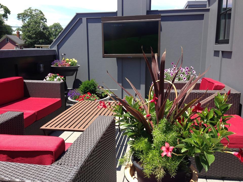 kostenloses foto terrasse veranda balkon dach. Black Bedroom Furniture Sets. Home Design Ideas