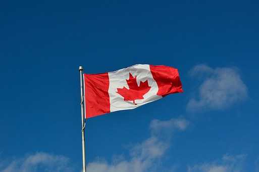 Canadian Flag Canada Maple Country Immigra