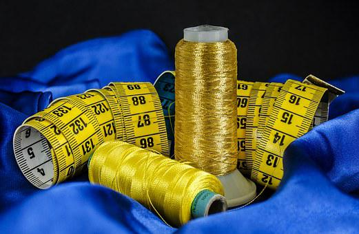Sewing, Cotton, Thread, Material, Tape