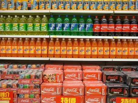 Supermarket Cola Soft Drink Soda Supermark