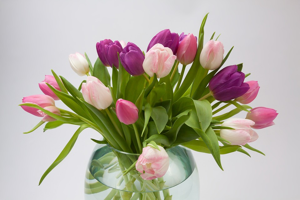 bouquet de fleurs tulipes. Black Bedroom Furniture Sets. Home Design Ideas