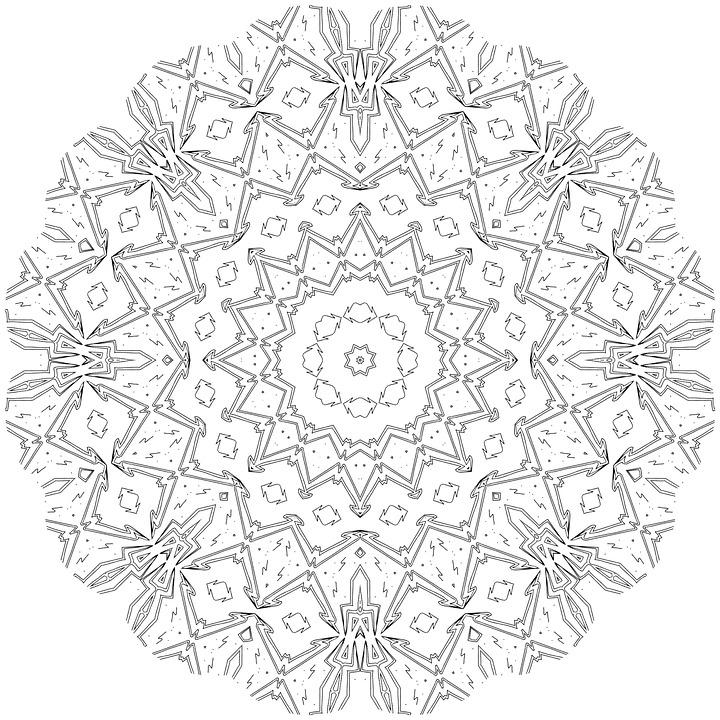 Mandala coloriage adulte couleur image gratuite sur pixabay - Mandala adulte ...