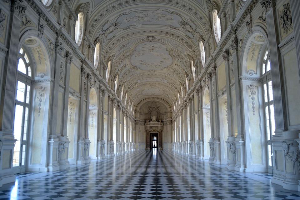 Torino, Italy, Reggia, Venaria, Architettura, Palazzo
