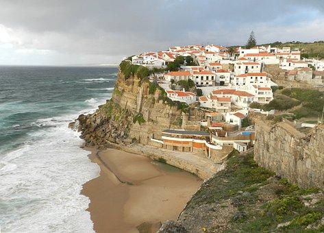Mar, Azenhas Do Mar, Sintra, Portugal