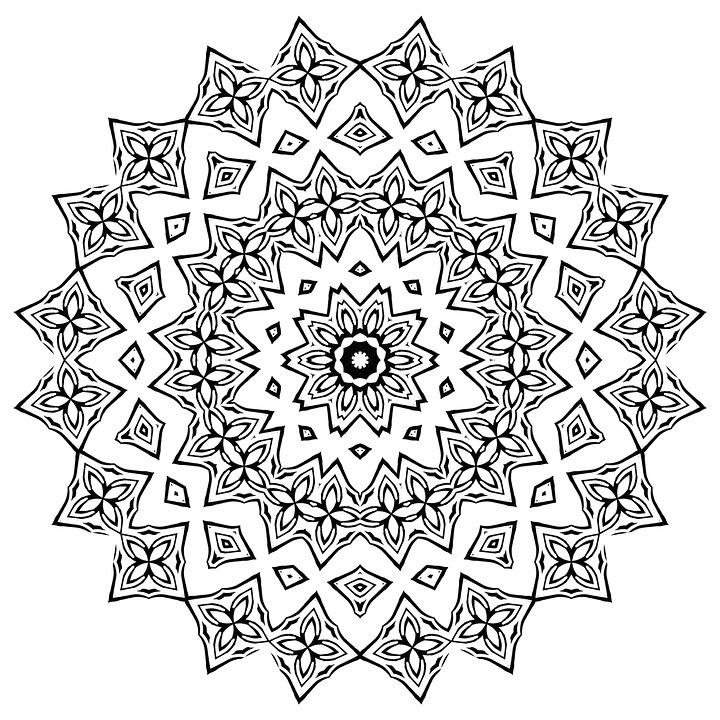 Mandala Adultos Para Colorear · Imagen gratis en Pixabay
