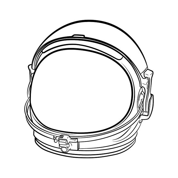 Free Illustration Space Helmet Adventure Joy Free