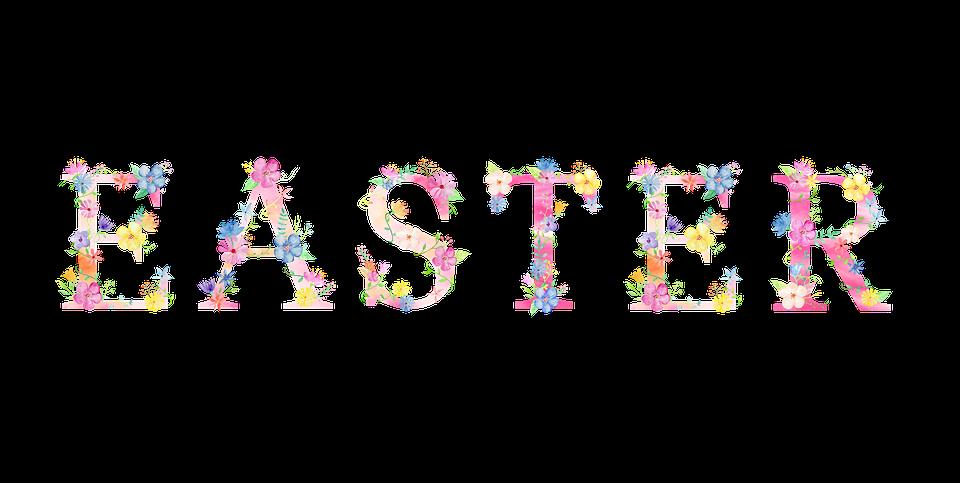 Easter Spring Transparent Background Flowers