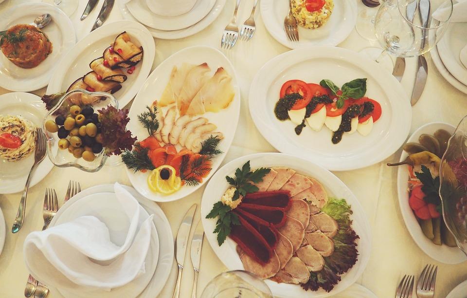Essen, Tisch, Tableful, Platte, Gericht, Ernährung