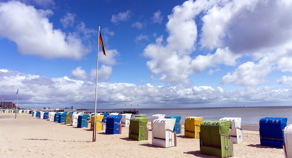 Strandkorb nordsee  Kostenloses Foto: Nordsee, Insel Föhr, Strandkorb - Kostenloses ...