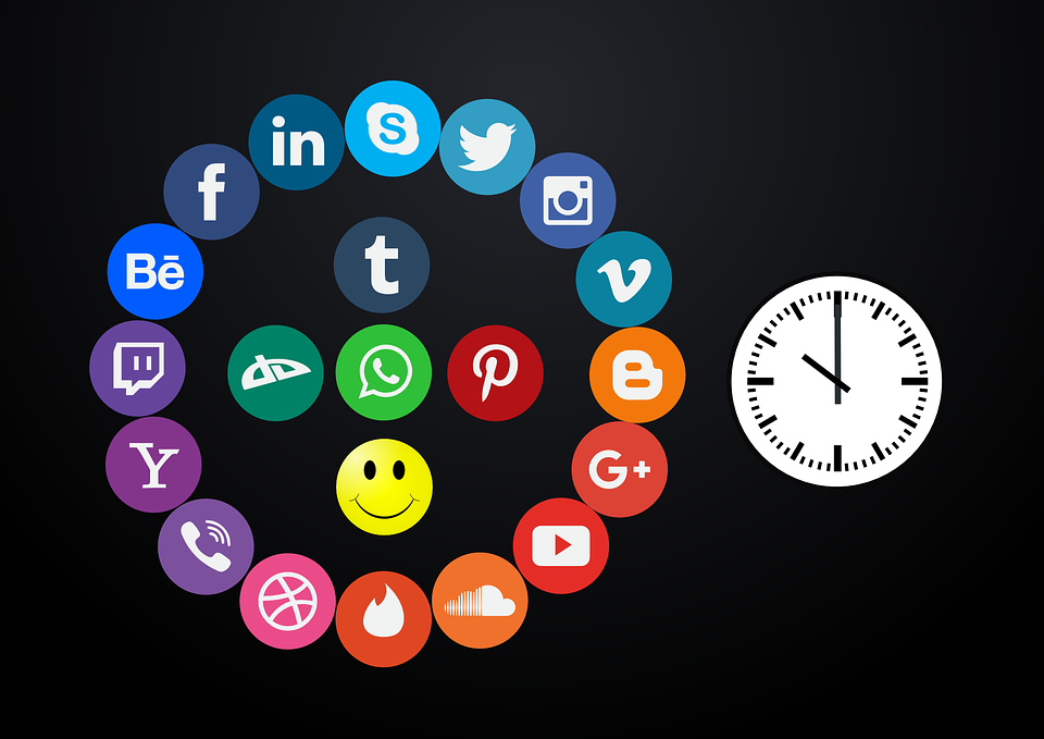 Icon Set, Social Media, World, Digital, Analog, Media