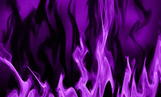 Smoke Flame Abstract Purple Background Art