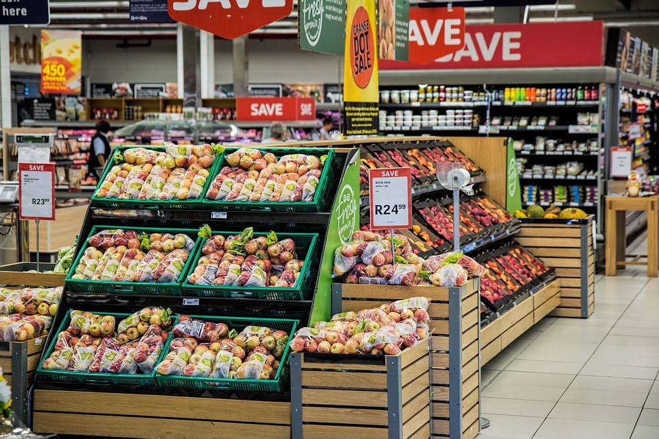 食料品, ショッピング, スーパーマーケット, マーチャンダイジング, 食料品の買い物, 食料品店, ストア