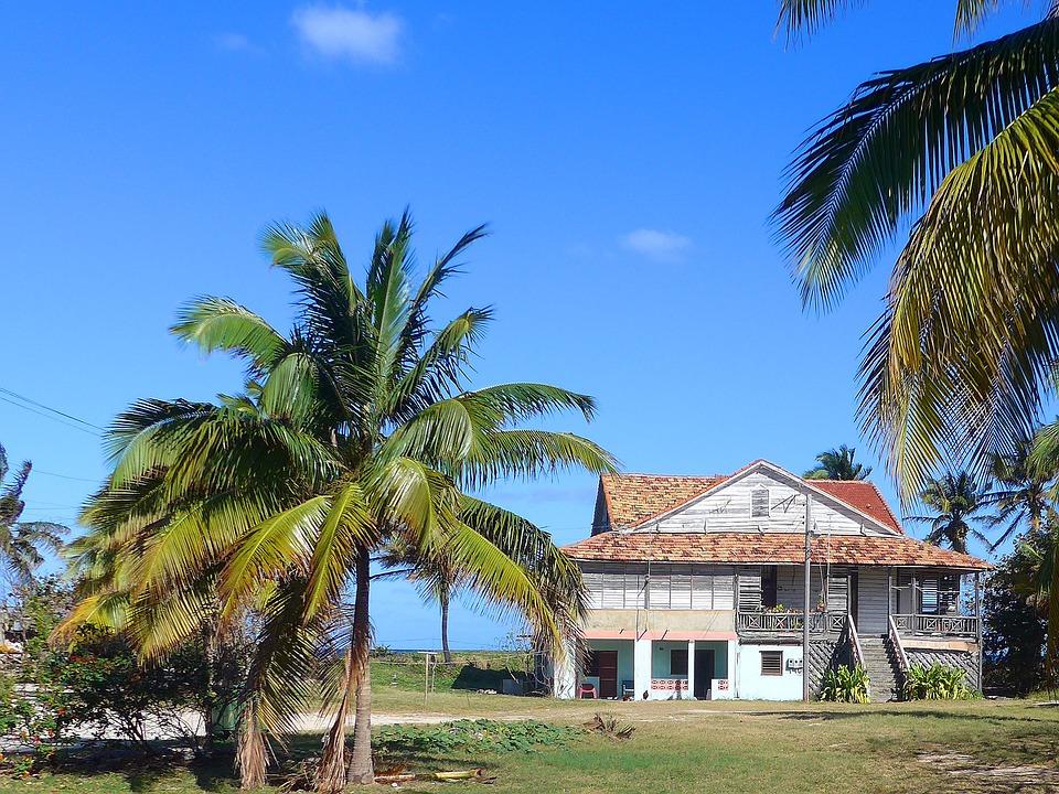 Strandhaus karibik  Kostenlose Illustration: Haus, Karibik, Holz, Strand, Kuba ...