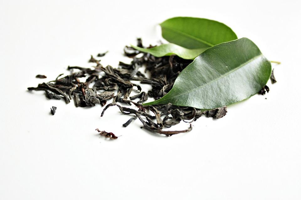 Thé Vert, Thé, Vert, En Bonne Santé, Feuilles