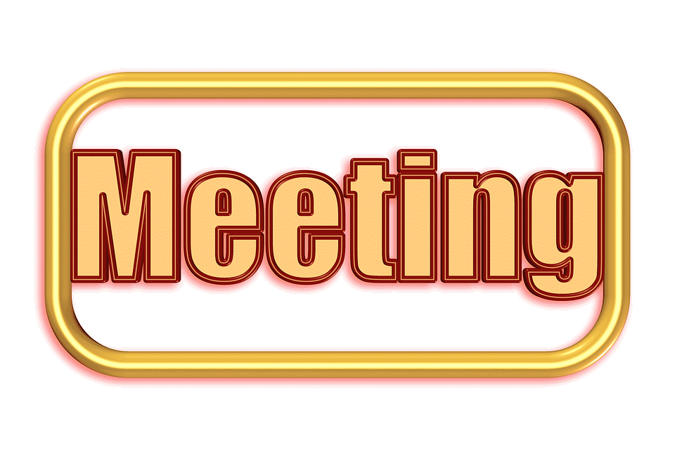 Meeting Memo Time Time Of Handwritten List Memory