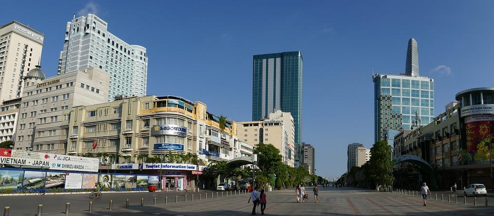 Vietnam Stock Market Chart: Free photo: Saigon Ho Chi Minh City Vietnam - Free Image on ,Chart