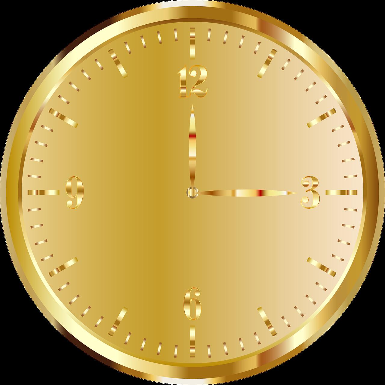 картинки круглые с циферблатом золотого цвета