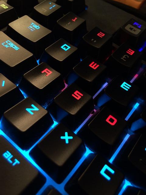 free photo keyboard gamer computer free image on