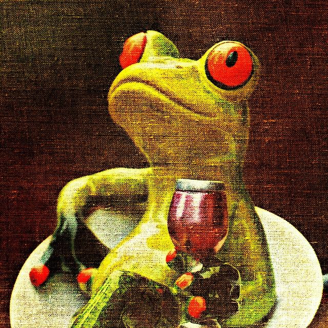 картинки лягушка пьет коктейль увидите