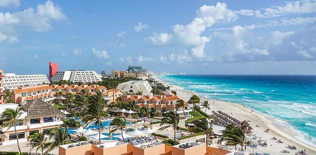 Free Photo Cancun Mexico Tropical Beach Free Image On Pixabay 1235489
