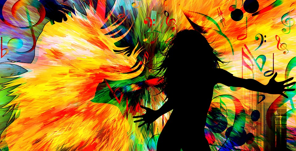 Illustration gratuite danse disco mouvement la musique for Musique barre danse classique gratuite